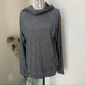 TENTREE Pullover Hoodie Lightweight Grey size XL